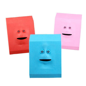 Money Boxes Face-Bank Money Eating Box - DiyosWorld