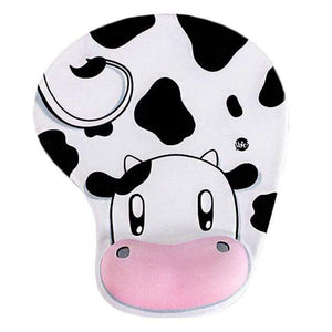 Mouse Pads DIYOS™ Cute Ergonomic Mouse Pad CUTE COW - DiyosWorld