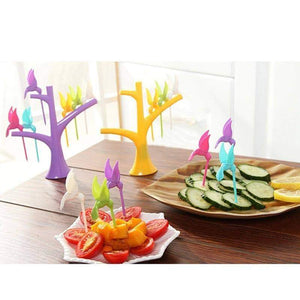 Fruit Fork Toothpick Holder