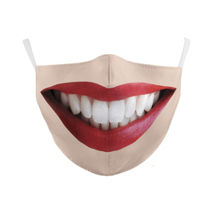 Party Masks Spooky Face Mask Smile - DiyosWorld