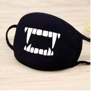 Party Masks Spooky Face Mask Vampire - DiyosWorld