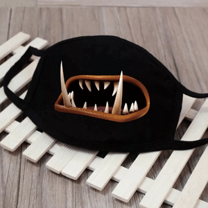 Party Masks Spooky Face Mask Shark - DiyosWorld