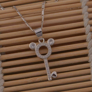 Pendant Necklaces Cute Multi Chain Necklace - DiyosWorld
