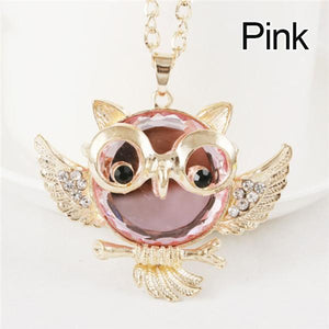 Pendant Necklaces Owl Necklace - DiyosWorld