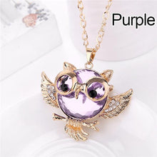 Load image into Gallery viewer, Owl Necklace