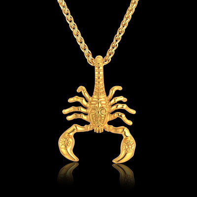 Unique Punk Scorpion Pendant Necklace
