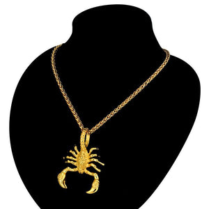 Pendant Necklaces Unique Punk Scorpion Pendant Necklace - DiyosWorld