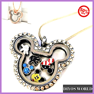 Pendants Luxury Floating Charms Magnetic Necklace [50% OFF+ FREE Worldwide Shipping] - DiyosWorld