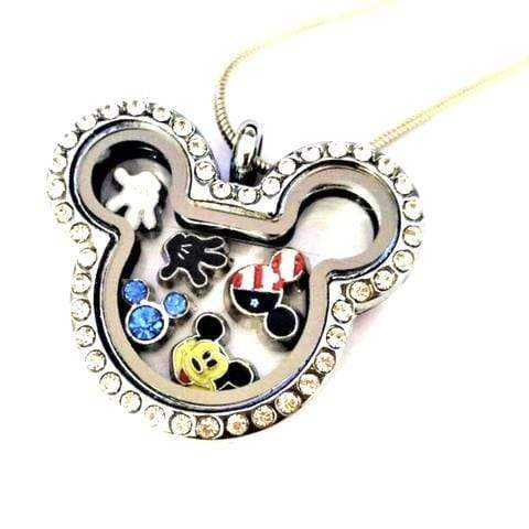 Pendants Luxury Floating Charms Magnetic Necklace [50% OFF+ FREE Worldwide Shipping] Silver With Charms - DiyosWorld