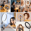 Load image into Gallery viewer, Photographic Lighting Selfie Pro™ Ring Light Kit - DiyosWorld