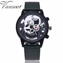 Load image into Gallery viewer, Skeleton Skull Quartz Watch