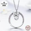 Load image into Gallery viewer, Rings Real 925 Sterling Silver Ring cum Pendant - DiyosWorld