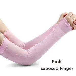 Fingerless Arm Warmers Women Cuff Sleeves
