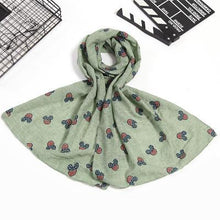 Load image into Gallery viewer, Luxury Cotton Scarf