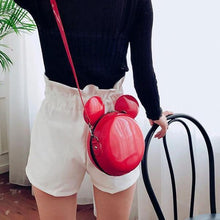 Load image into Gallery viewer, Leather Cartoon Inspired Round Bag