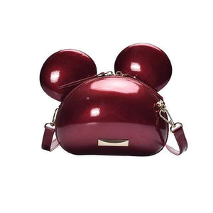 Shoulder Bags Exotic Cartoon Cross-Body Bag Red wine - DiyosWorld