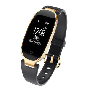 Smart Watches S3 Bluetooth Smart Watch Black Gold / With Box - DiyosWorld