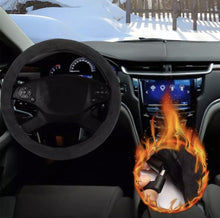 Load image into Gallery viewer, Heated Universal Car Steering Wheel Cover