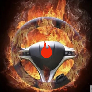 Heated Universal Car Steering Wheel Cover