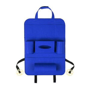 Stowing Tidying Car Back Seat Organizer Royal blue - DiyosWorld