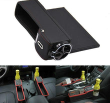 Load image into Gallery viewer, Leather Car Storage Organizer