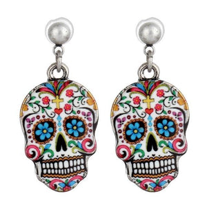 Unique Skull Earring