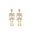 Load image into Gallery viewer, Stud Earrings Antique Vintage Punk Skeleton Skull Earrings - DiyosWorld