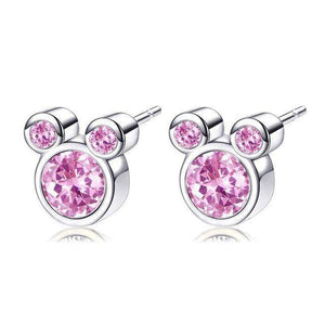 Stud Earrings Luxury Cartoon Stud Earrings Pink21 - DiyosWorld