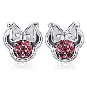 Stud Earrings Luxury Cartoon Stud Earrings Red - DiyosWorld