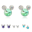 Load image into Gallery viewer, Stud Earrings Rhinestone Crystal Small Stud Earrings - DiyosWorld