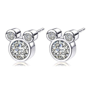 Stud Earrings Luxury Cartoon Stud Earrings Silver20 - DiyosWorld