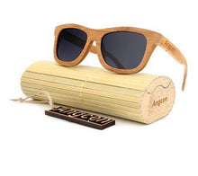 Load image into Gallery viewer, Bamboo Hanndmade Retro Vintage Wooden Sunglasses
