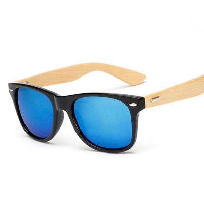Retro Bamboo Wood Sunglasses