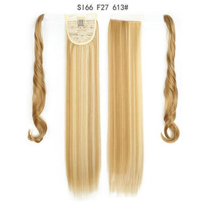 Synthetic Ponytails Ponytail Hair Extension SI66 F27 613 - DiyosWorld