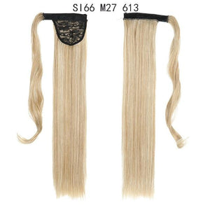 Synthetic Ponytails Ponytail Hair Extension SI66 M27 613 - DiyosWorld