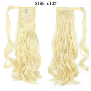 Synthetic Ponytails Ponytail Hair Extension SI88 613 - DiyosWorld