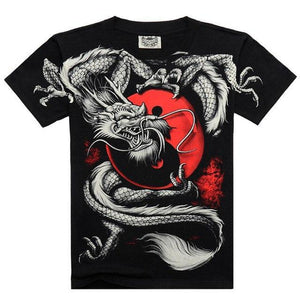 T-Shirts Mens Casual 3D Printed T shirt TX-SMT-126 / M - DiyosWorld