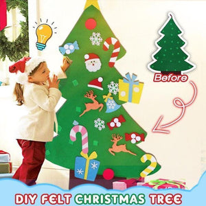 Trees DIY Felt Christmas Tree [50% OFF BLACK FRIDAY SALE] - DiyosWorld