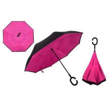 Load image into Gallery viewer, Handsfree Reverse Folding Umbrella