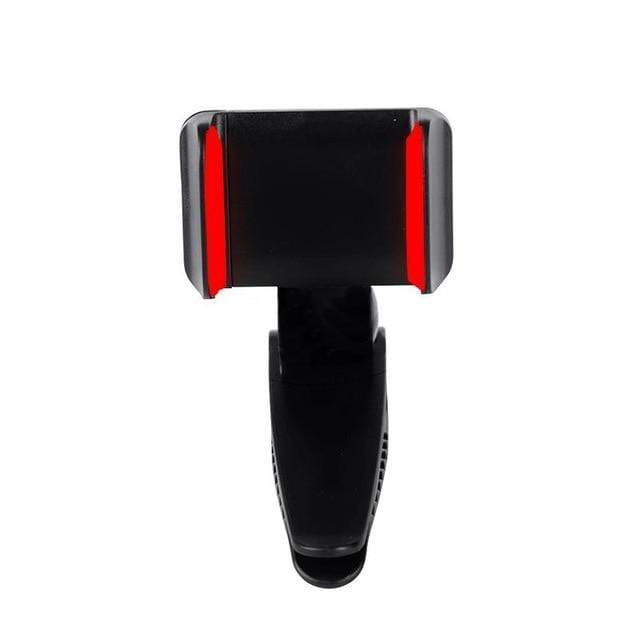 Universal Car Bracket Phone Holder Clip Red - DiyosWorld