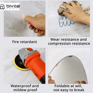 Wall Stickers DIY PEEL & STICK™ Waterproof Tiles - DiyosWorld