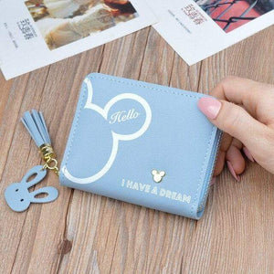 Wallets Iconic Cartoon Dream Wallet Blue - DiyosWorld