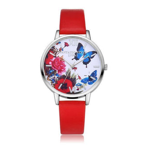 Watch Butterfly Watch Red - DiyosWorld