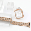 Load image into Gallery viewer, Watchbands Luxury iWatch Case And Strap Set- With Bling Diamond - DiyosWorld