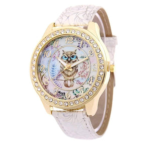 watches Luxury Designer Owl Watch White - DiyosWorld