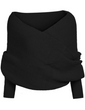 Load image into Gallery viewer, Women's Scarves Diyos™ All in One Winter Scarf Black - DiyosWorld
