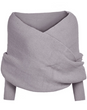 Load image into Gallery viewer, Women's Scarves Diyos™ All in One Winter Scarf Gray - DiyosWorld