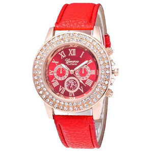 Luxury Rhinestone Crystal Watch