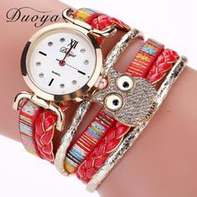 Load image into Gallery viewer, Vintage Braided Owl Luxury Watch