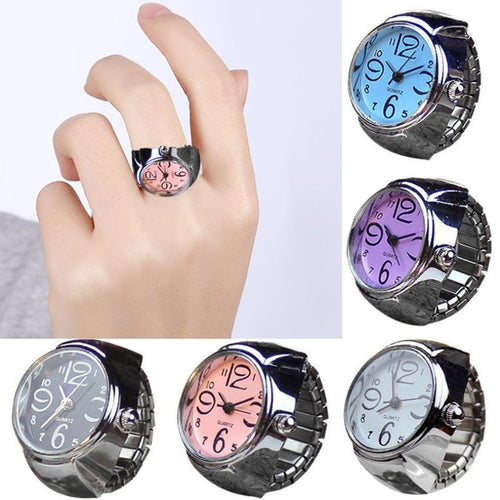 Women's Watches Women Finger Ring Watch - DiyosWorld